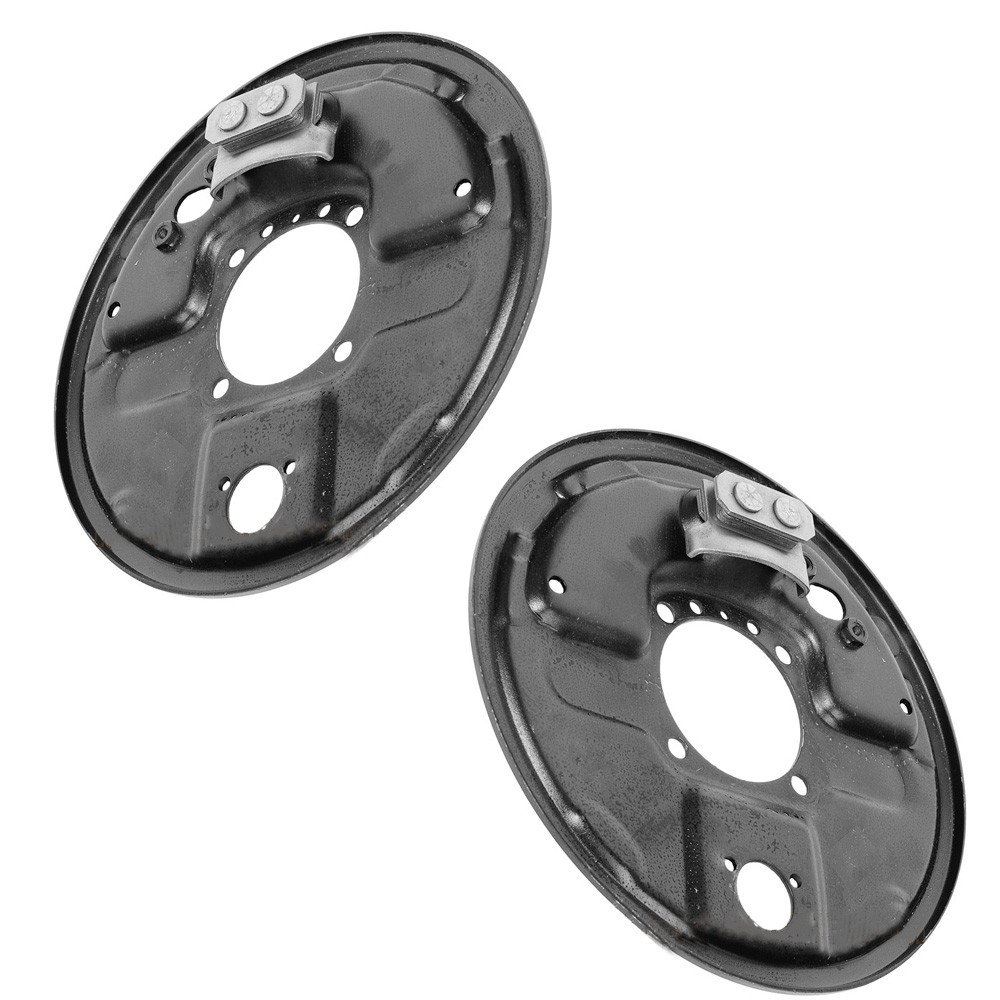 Lada Laika Riva 2101-2107 Brake Drum Backplate Right + Left (Brake Pads WITHOUT eccentric!!!)
