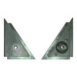 Lada Laika 2105 Side Mirror Trim Corner Kit 2 Pcs