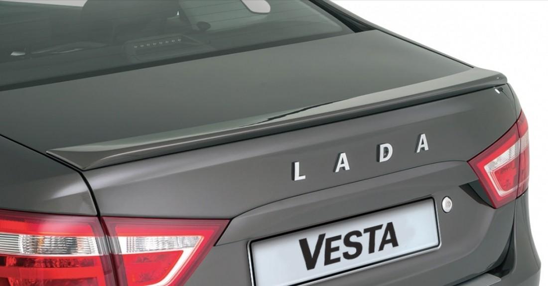 """LIP-SPOILER LADA VESTA """"PT"""""""