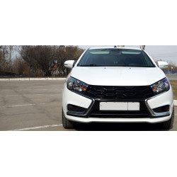 RADIATOR GRILLE WITHOUT EMBLEM (LOGO) ON LADA VESTA