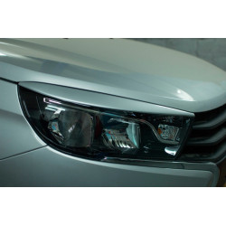 Cilia for headlights Lada Vesta