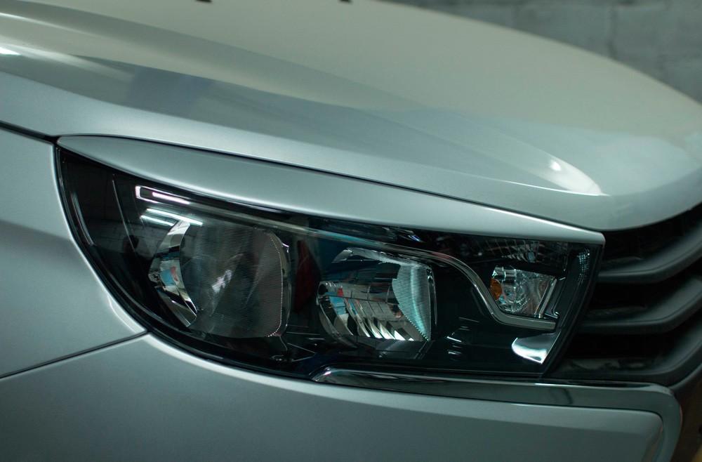 Cilia for headlights Lada Vesta