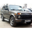 "Lada Niva Sidesteps Luxury ""Aluminum with rubber"" 2121 21214 NIVA URBAN 4X4"