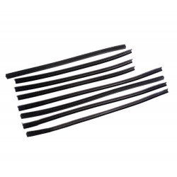 Lada Samara 2109 Sliding Glass Seals Kit for 4 Dorrs