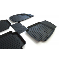 Interior Floor Rubber Mats Kit Lada 2108 2109 21099 2113 2114 2114