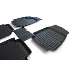 Interior Floor Rubber Mats Kit Lada 2108 2109 21099 2113 2114 2115