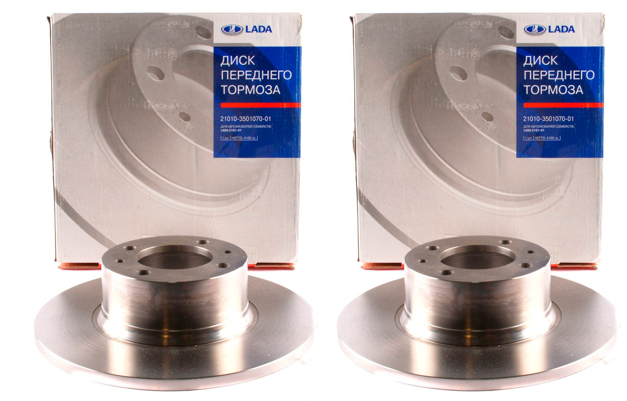 Lada 2101-2107 Front Brake Disc (1 Pc)