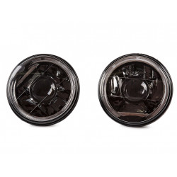 Headlight Element tuning black H4 Pair Lada Niva 2121 2101