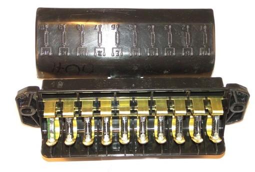 Lada Niva / 2101-2107 Fuse Box + Fuses EURO (13 fuses)