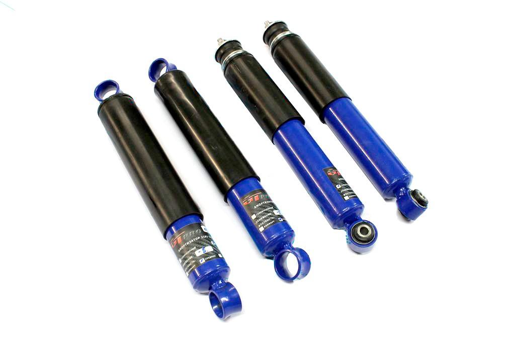 Shock absorber GT pro kit front + rear 2101 - 2107