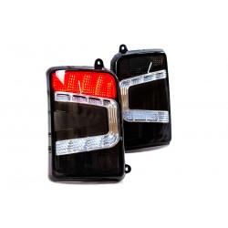 Taillights LED BLACK tuning LADA NIVA 1700