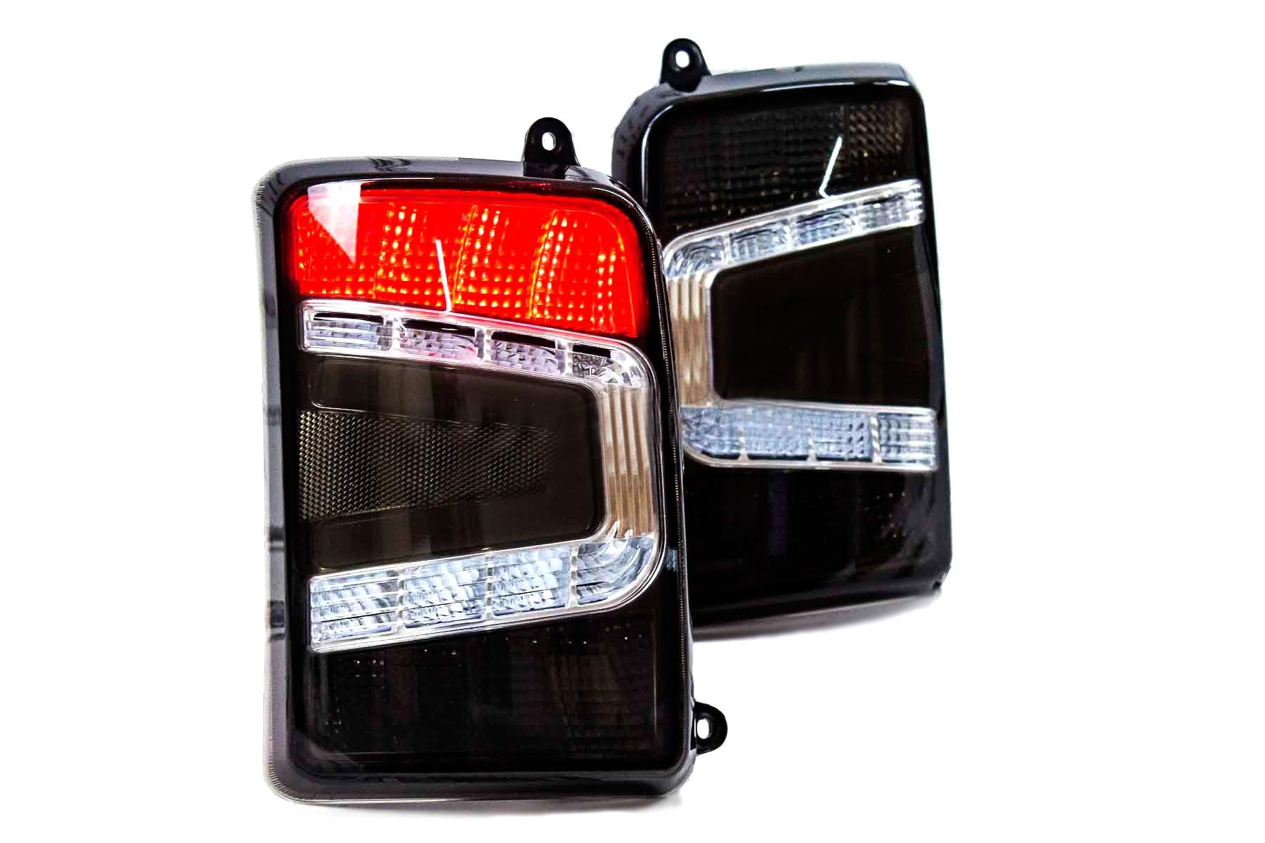 LADA NIVA 1600, 1700 Taillights LED BLACK tuning