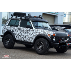 Fenders arch extensions Lapter lada niva 2121 21213 21214