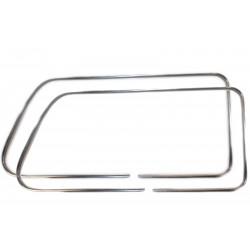 Lada Niva Rear Side Window Glass Trim Moulding Kit L+R