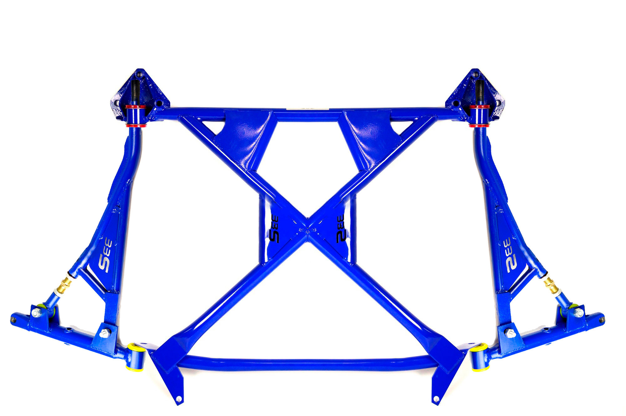 """Subframe with triangle suspension arms kit """"33S"""" Rubber lada  2108 2109 2113 2114 2115"""