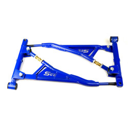 "Subframe with triangle suspension arms kit ""33S"" Rubber lada  2108 2109 2113 2114 2115"