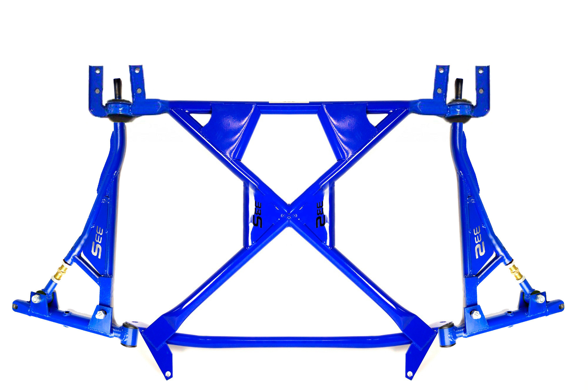 """Subframe with triangle suspension arms kit """"33S"""" Rubber lada  kalina granta"""