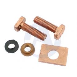 LADA NIVA 1600, 1700, 2101-2107, Repair Kit Starter: copper bolt copper washer, copper plate for starter
