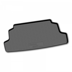 Trunk polyurethane Mat Carpet Lada Niva 21213 21214