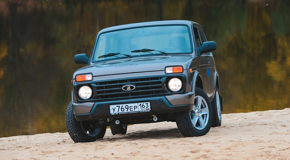 Lada Niva Urban Body kit