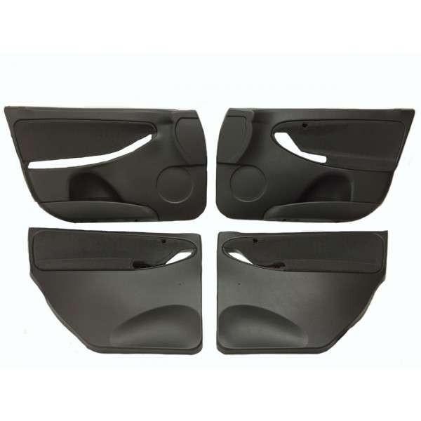 LADA KALINA 1117, 1118, 1119 interior upholstery set black