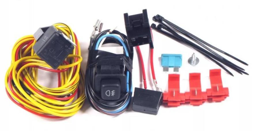 LADA  NIVA 4X4, 2108, 2109, 21099  Kit for connecting fog lights