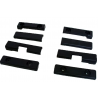 LADA NIVA 4X4, 2121, 21213, 21214, 21218, 2131 Linings on the slats for mounting mudguards