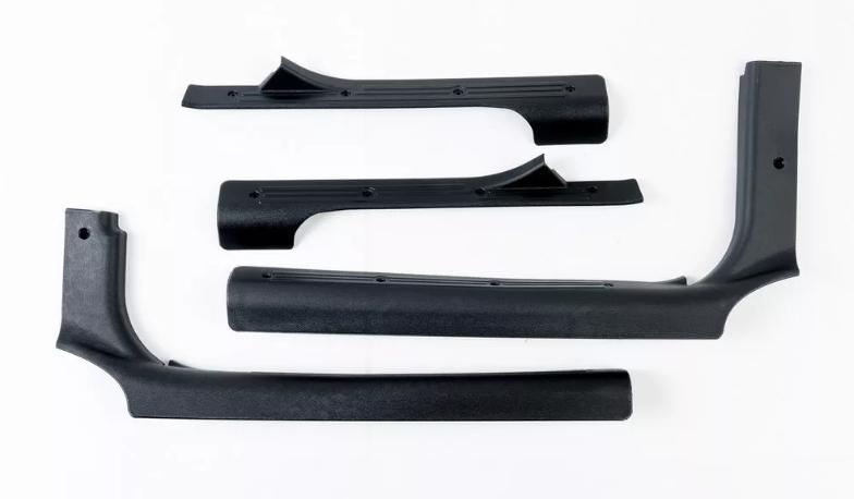 LADA 1117,1118, 1119, 2190, 2191  Thresholds lining interior plastic, 4 pcs
