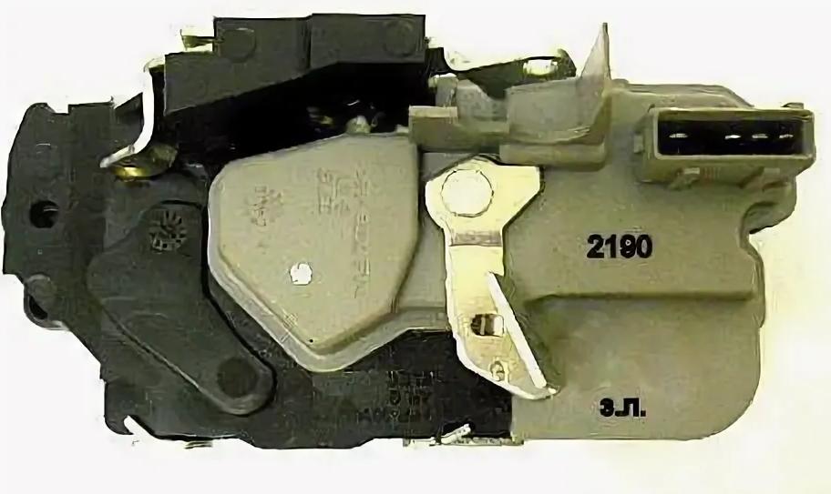 LADA 1117,1118, 1119, 2190, 2191  Rear door lock, left Assembly