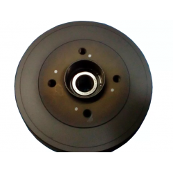 LADA VESTA 2180,  Brake drum with ABS, assembly
