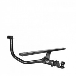 Tow hitch (tow bar) with a removable ball universal for vehicles with gas equipment 21214-2131 Niva URBAN 4x4