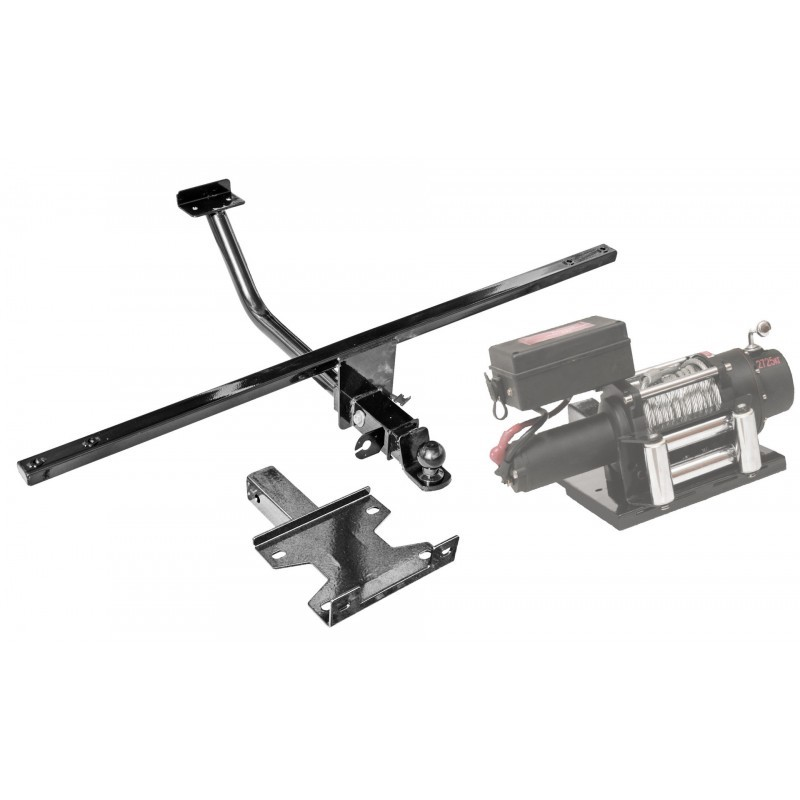 Tow hitch (tow bar) with a removable ball universal Niva 21214-31 and Niva Urban 4x4