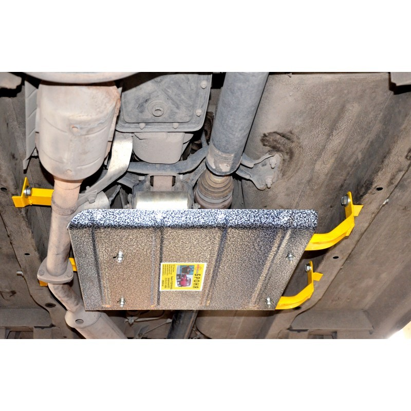 """Subframe transmission and transfer case universal Protection of """"Armor"""" (0714) URBAN 4x4 Niva 21214"""
