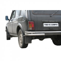 "Protection rear bumper ""Corner double"" 2121 21214 NIVA URBAN 4X4"