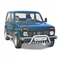 "Protection of the front ""Shark"" d63,5 and the additional engine protection - 2121 21214 NIVA URBAN 4X4"