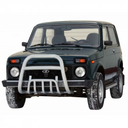 "Protection front ""Upper tube"" d63.5  2121 21214 NIVA URBAN 4X4"