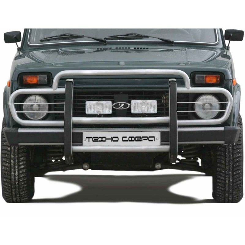 "Protection of the front ""Straight"" d63.5 - 2121 21214 NIVA URBAN 4X4"