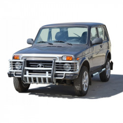 "Protection front with motor protection ""Toothed"" 2121 21214 NIVA URBAN 4X4"