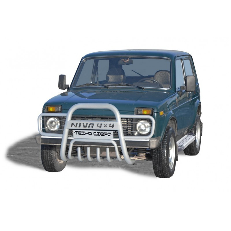 "Protection front with motor protection ""Smooth"" D63,5 - 2121 21214 NIVA URBAN 4X4"