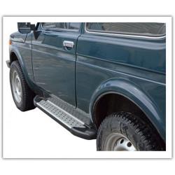 Lada Niva 3 Doors Sidesteps Footboards BMW Style 2121 21214 NIVA URBAN 4X4